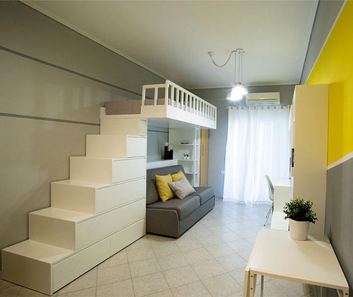 studio apartment Square Design Interiors 1