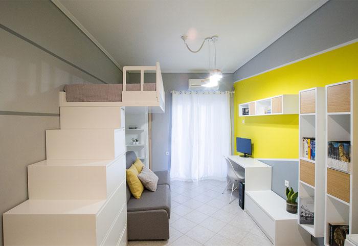 studio apartment Square Design Interiors 2
