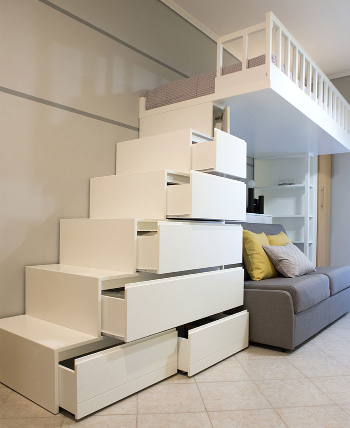 studio apartment Square Design Interiors 3