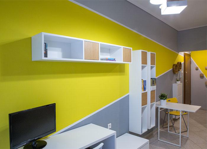 studio apartment Square Design Interiors 6