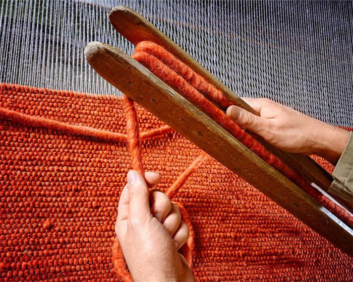 tisca woolen carpets socially responsible environment romania