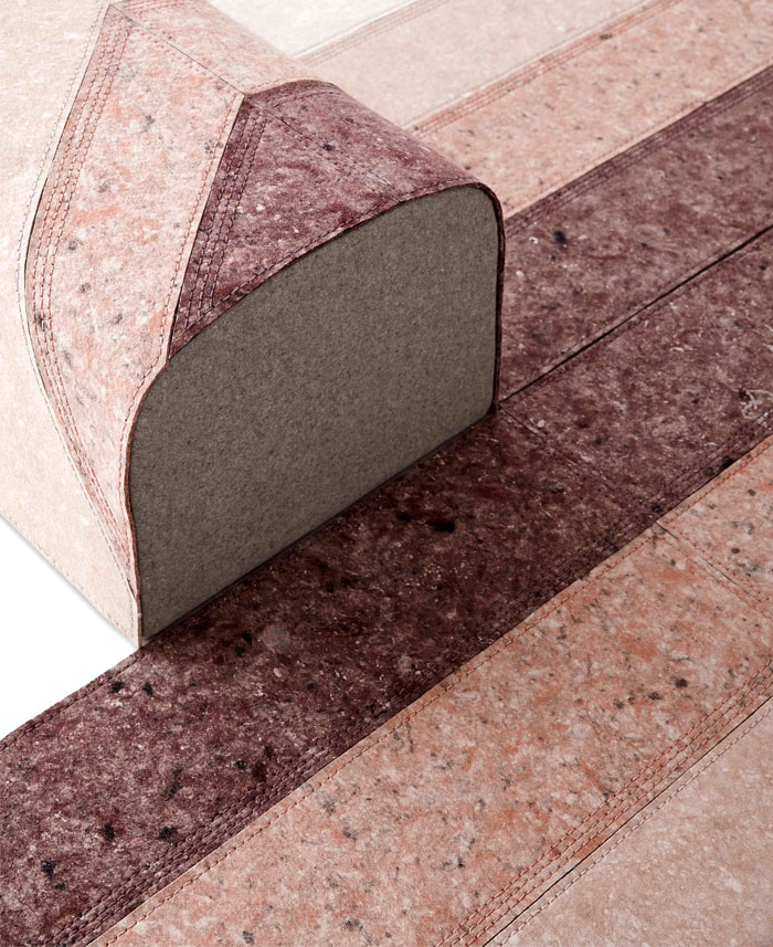 gan sustainable felt rug 3
