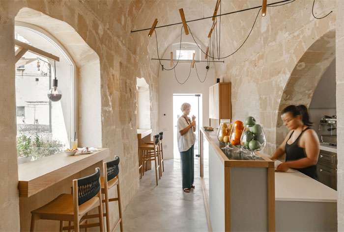 ai maestri rooms cafe matera 1