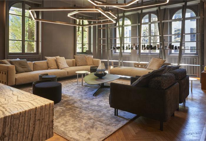 henge furniture colection milan design week 11