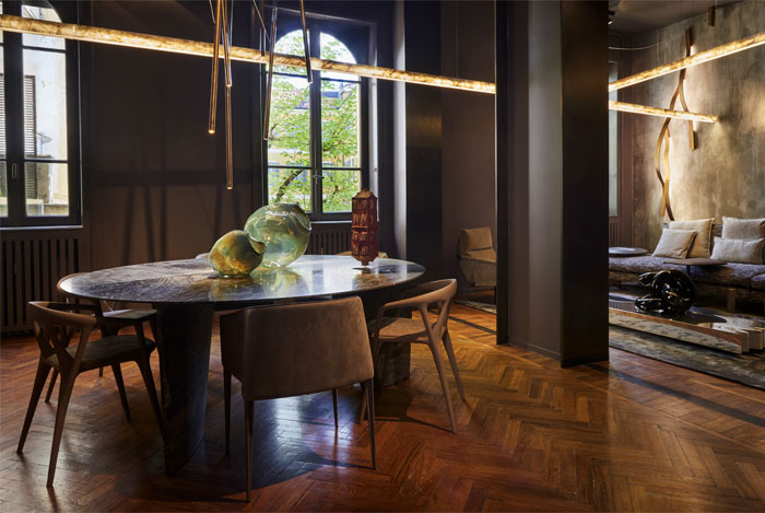 henge furniture colection milan design week 12