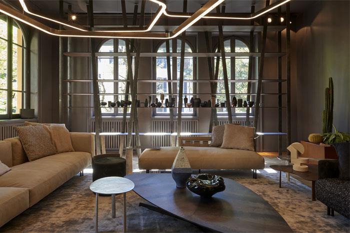 henge furniture colection milan design week 13