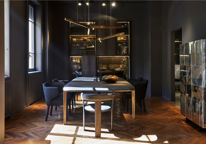 Henge Contemporary Home Concept At Via Della Spiga