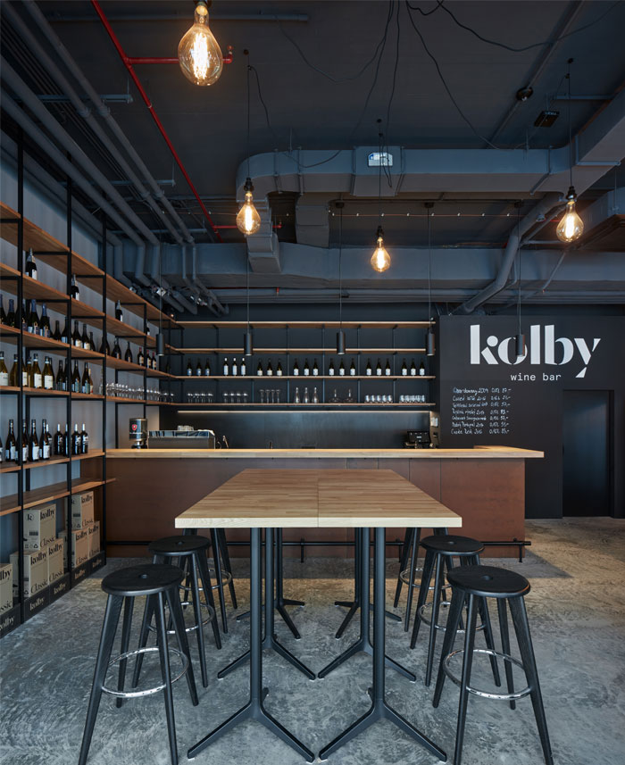 kolby wine bar CMC architects 4