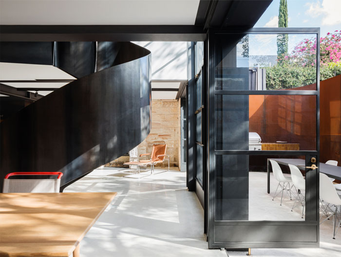 paddington house by pohio adams architects 13