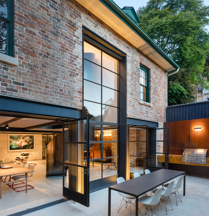 paddington house by pohio adams architects 15