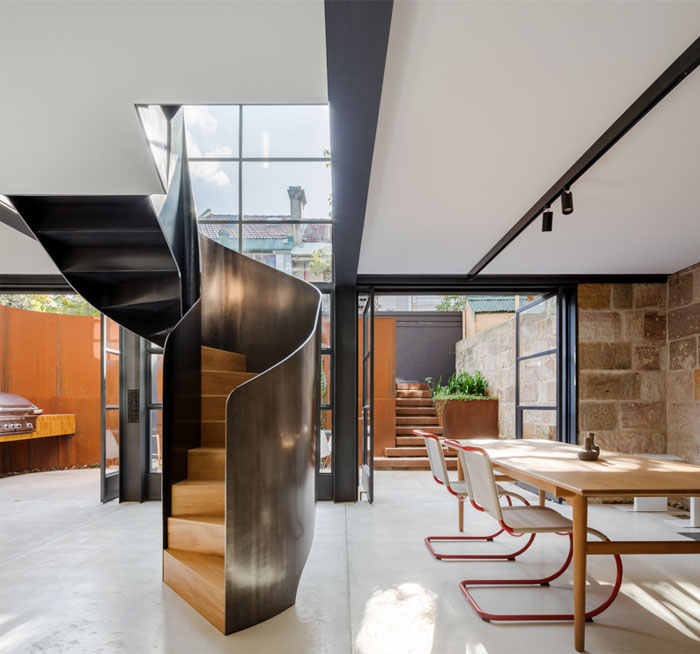 paddington house by pohio adams architects 6