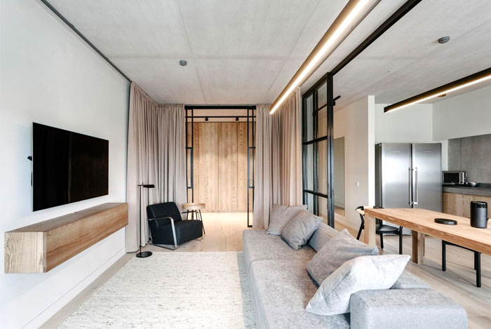 small urban apartment burofive 4
