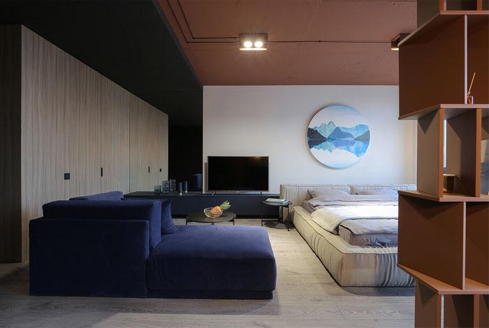 sobo studio sienna color apartment 3