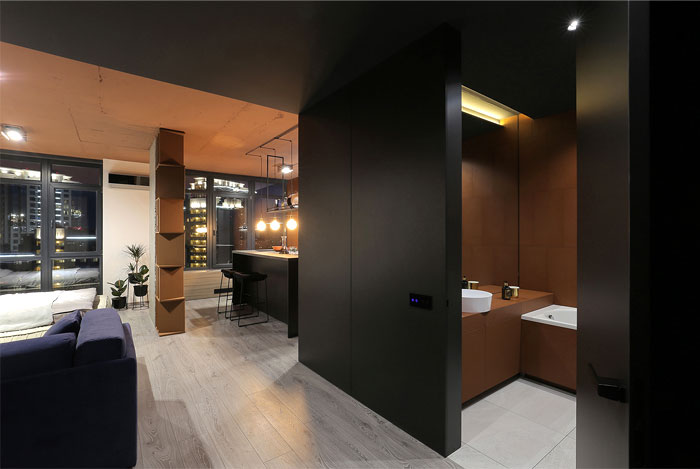 sobo studio sienna color apartment 8