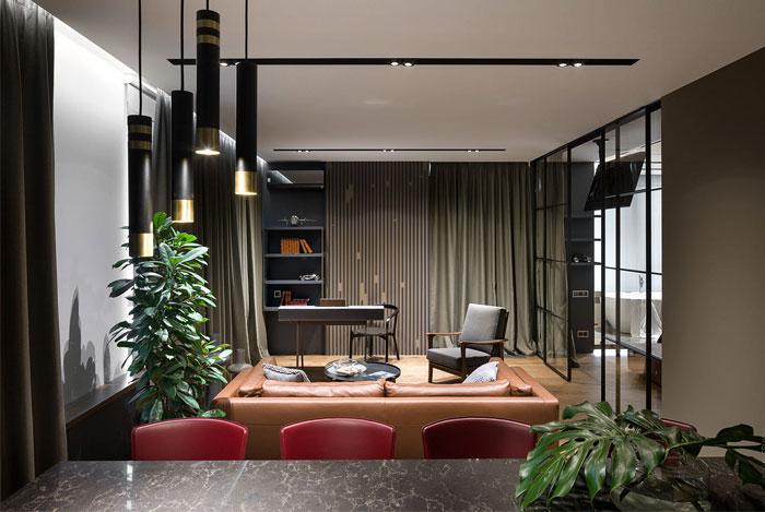 78m2 urban dwelling homecult interior design 1