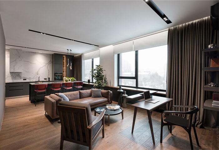 78m2 urban dwelling homecult interior design 4