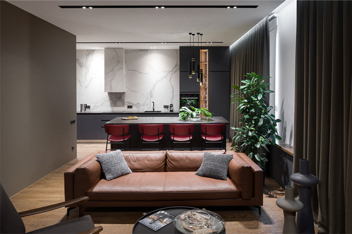 78m2 urban dwelling homecult interior design 5