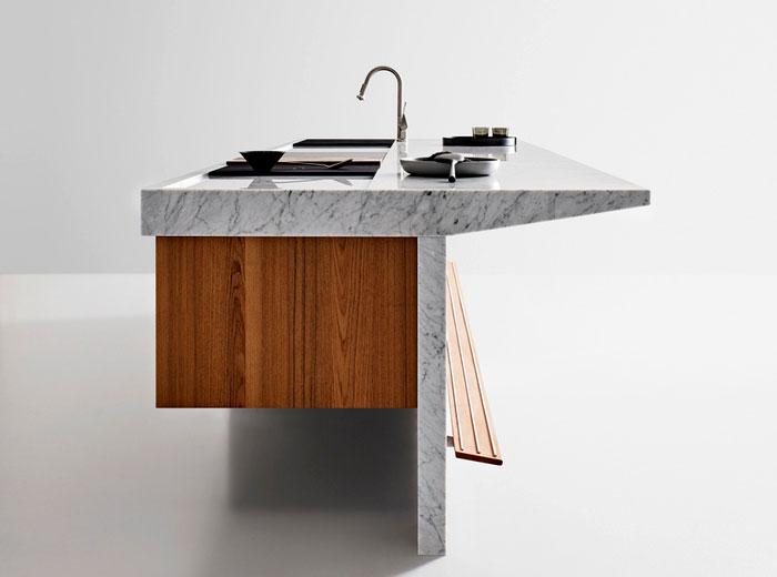 arclinea kitchen lignum et lapis 9