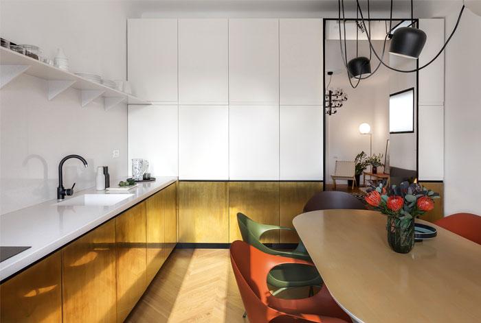 bogdan ciocodeica brass kitchen decor