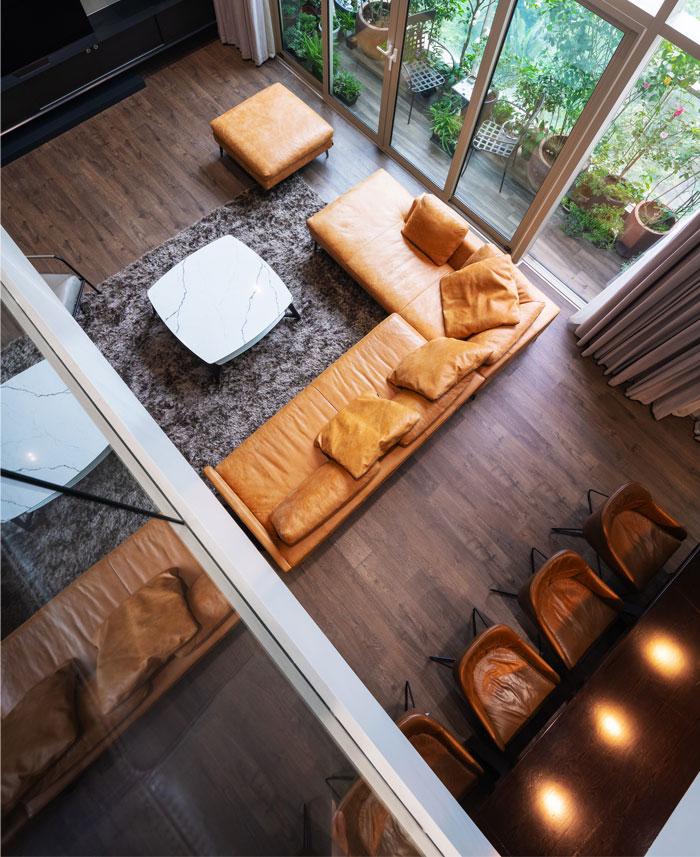 duplex apartment flat6 architects 13