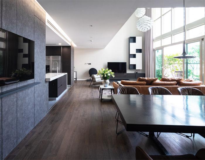 duplex apartment flat6 architects 3