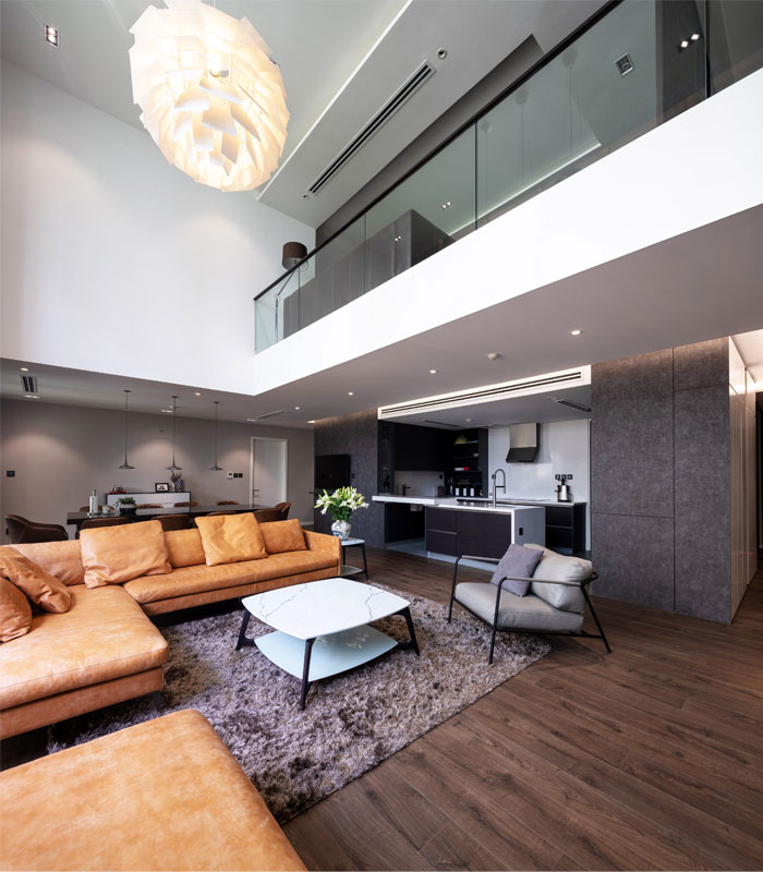 A.M01 Duplex Apartment By Flat6 Architects
