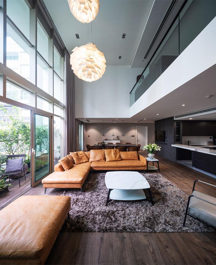 duplex apartment flat6 architects 5