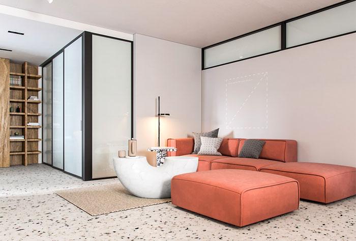 garage apartment sens studio 12