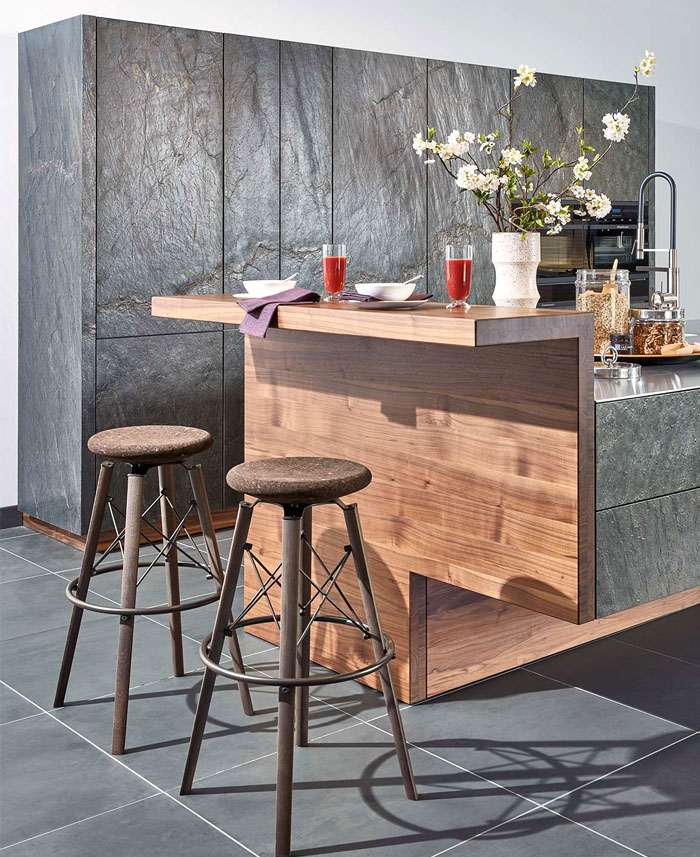 kitchen cabinet materials stone