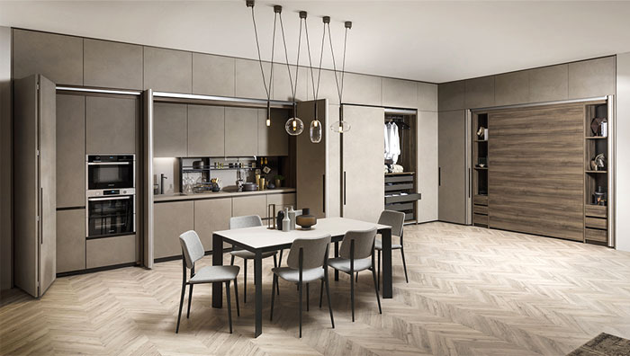 limited urban space kitchen 3