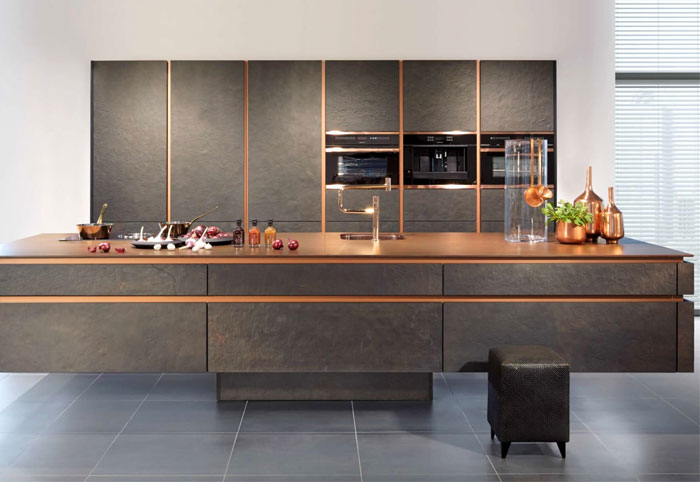 metal kitchen cabinets glamorous look 13