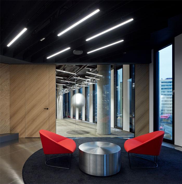 studio perspektiv office interior prague 3