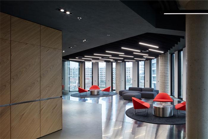 studio perspektiv office interior prague 5