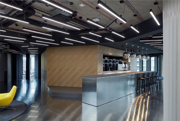 studio perspektiv office interior prague 9