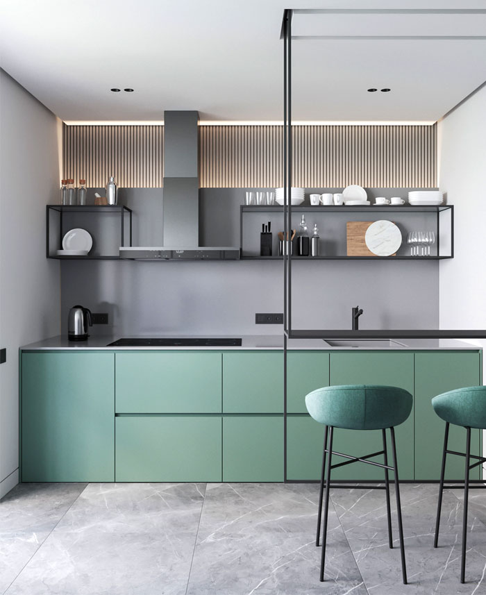 Kitchen Design Trends 2020 2021 Colors Materials Ideas Interiorzine