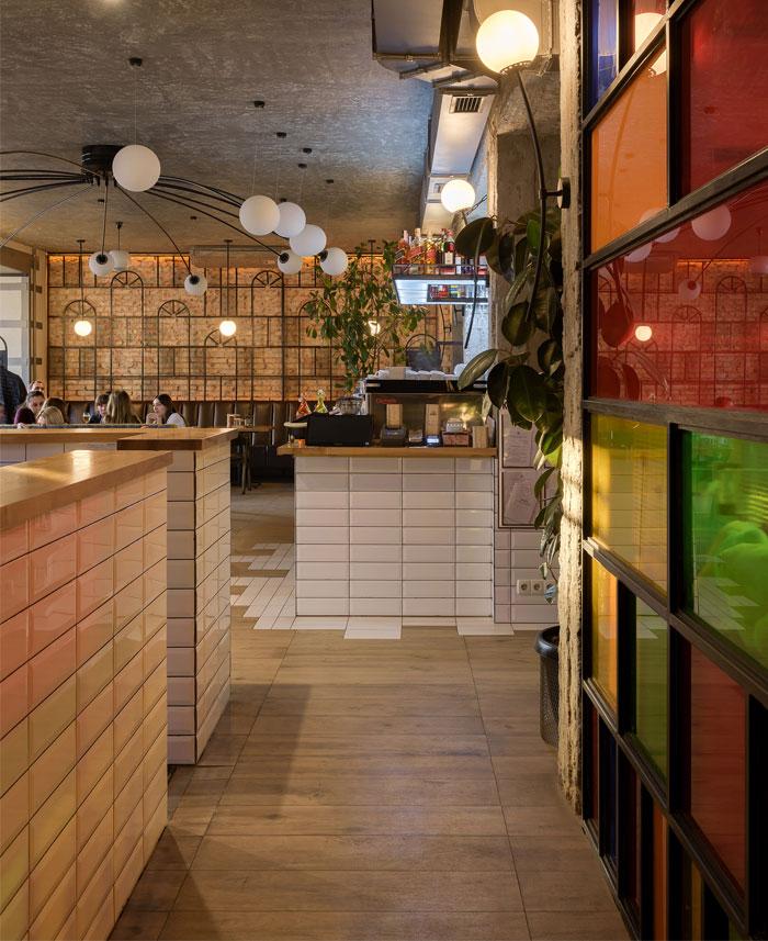 bergamot restaurant decor 13