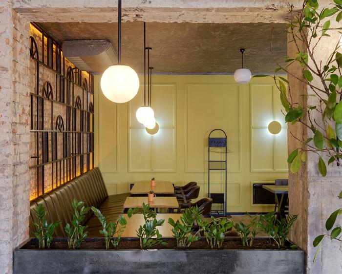 bergamot restaurant decor 5