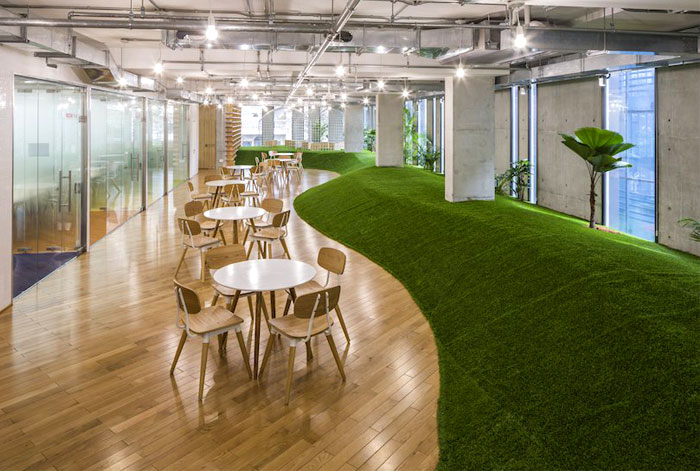 greenery office design 2