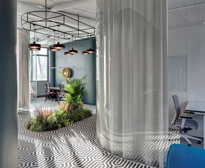 greenery office design monday office 7