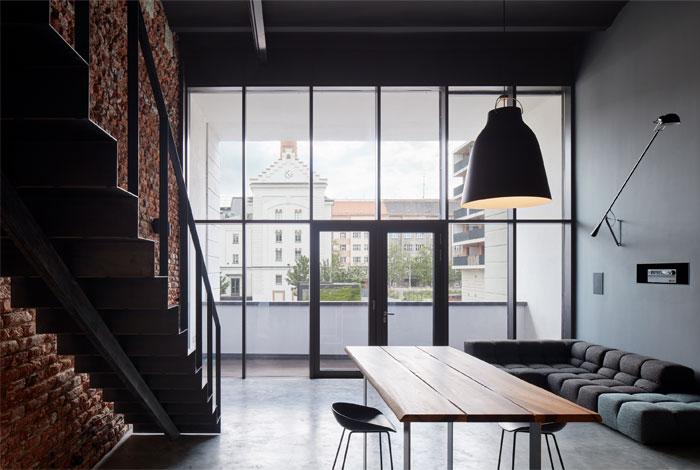 loft apartment historical brewery prague 15
