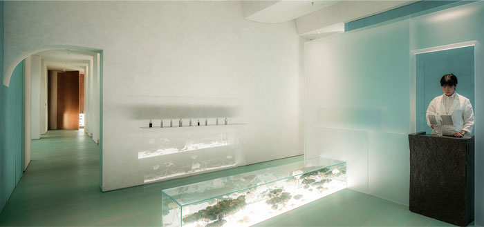 aqua health clinic waterfrom design 21