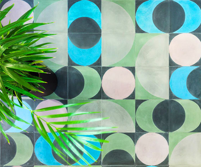huguet hydraulic tiles collection 4