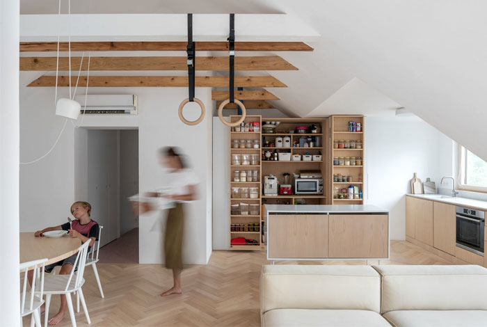 kilo honc attic apartment bratislava 3