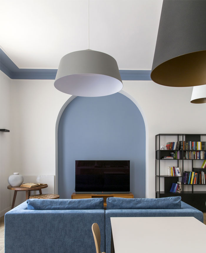 renovation rome apartment filippo bombace 1