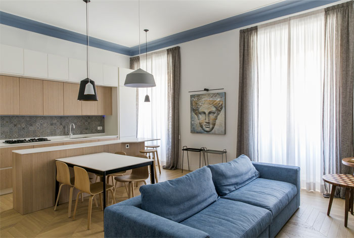 renovation rome apartment filippo bombace 14