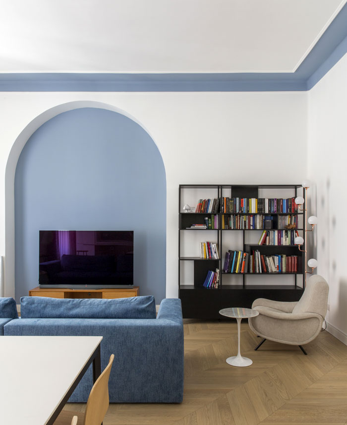 renovation rome apartment filippo bombace 3