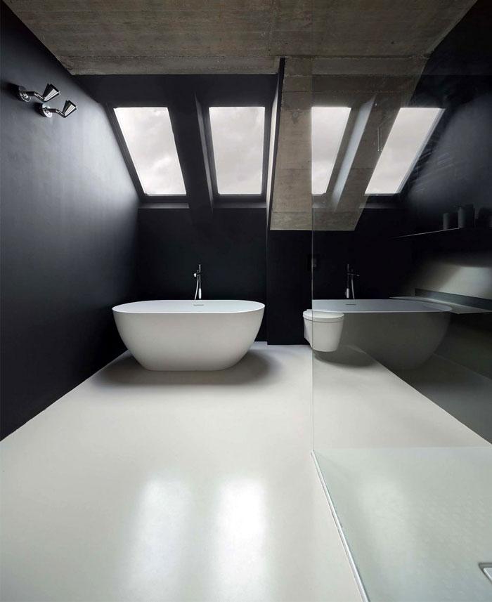 stylish mezzanine apartment bratislava 16