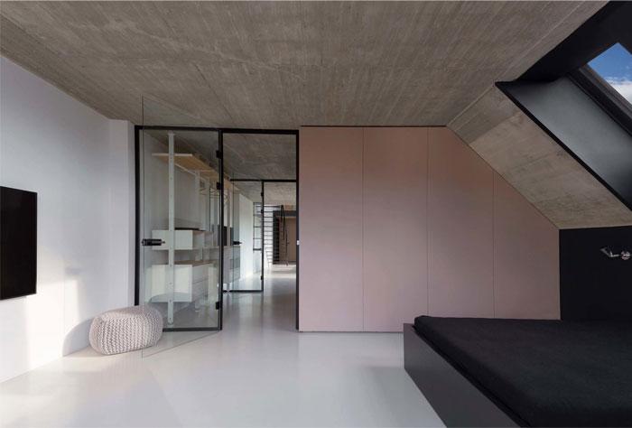 stylish mezzanine apartment bratislava 5
