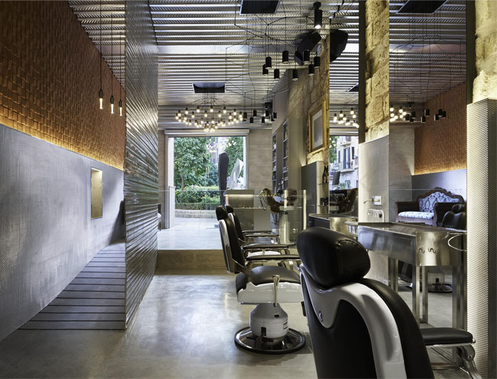 wireflow pendant barber shops 8
