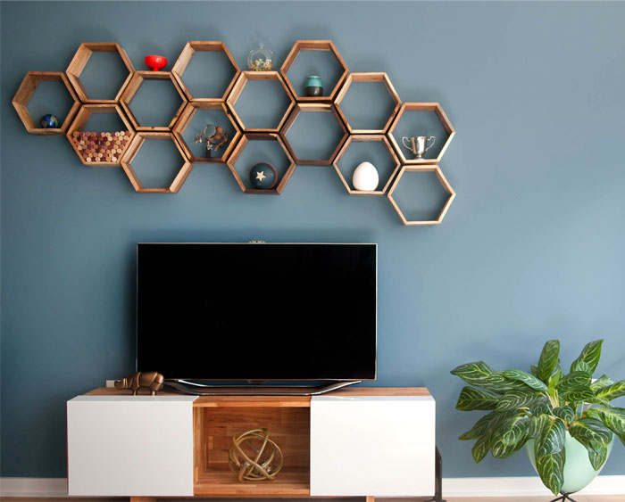 wooden tv wall mount designs 8 1